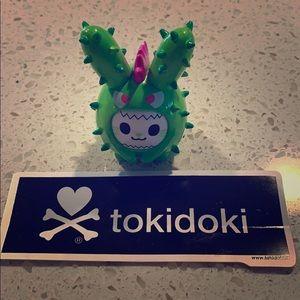 Tokidoki cactus bunnies spike figurine